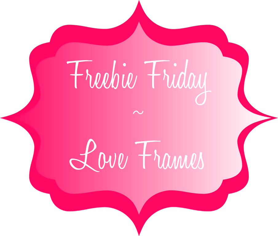Freebie Friday | Love Frames #Printable #ValentinesDay #Love #Crafts