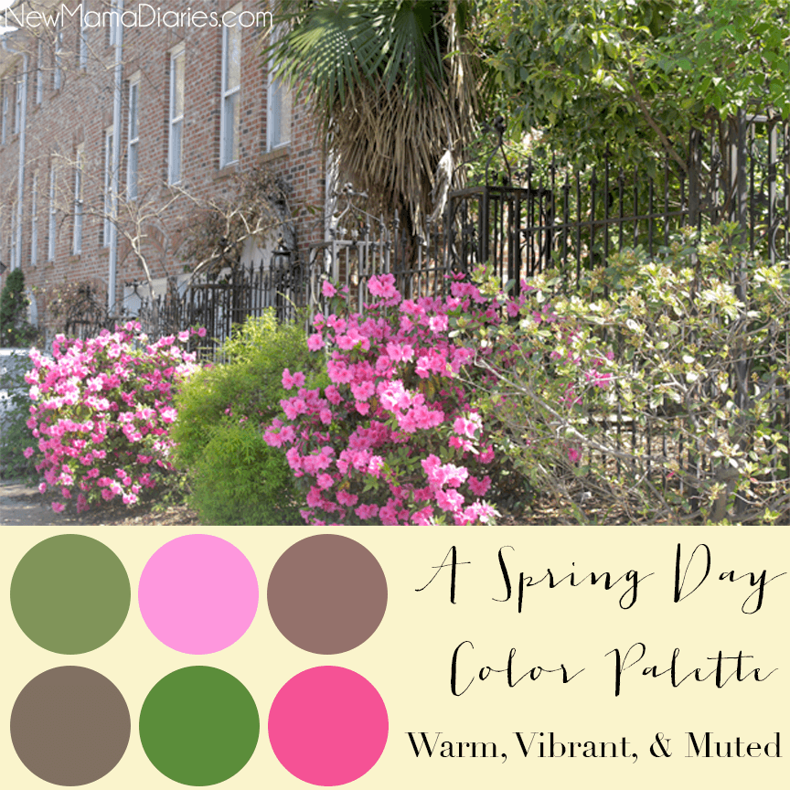 Spring Day Color Palette | NewMamaDiaries.com