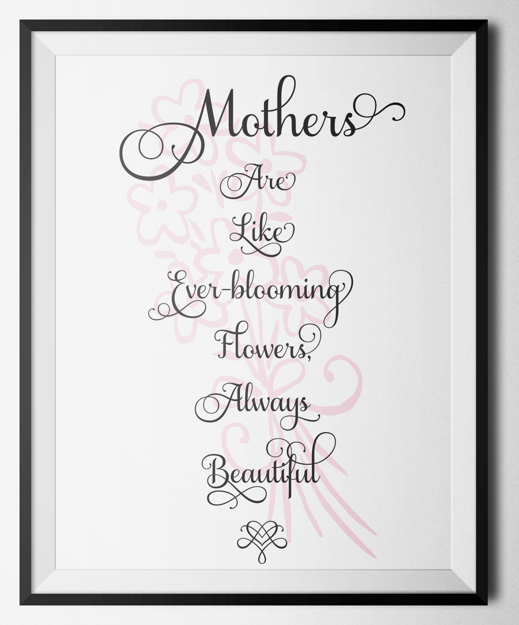 Learning Through Motherhood:  A Tribute and Birthday Message to My Mother + Printable Mother'a Day Art