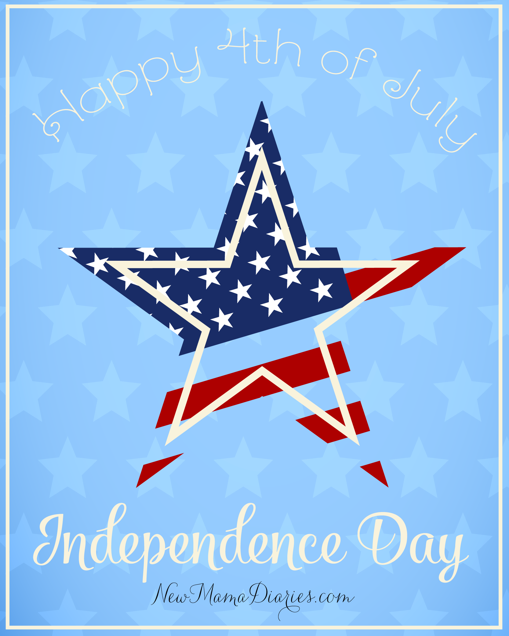 Happy 4th of July! | NewMamaDiaries.com