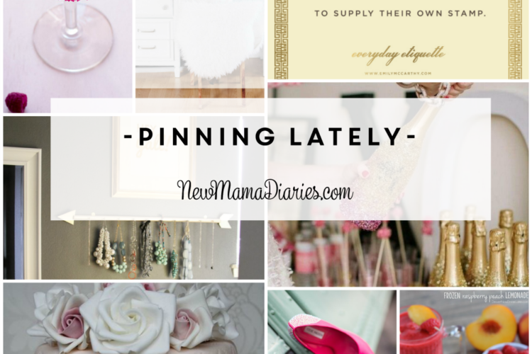 What I'm Pinning Lately | NewMamaDiaries.com