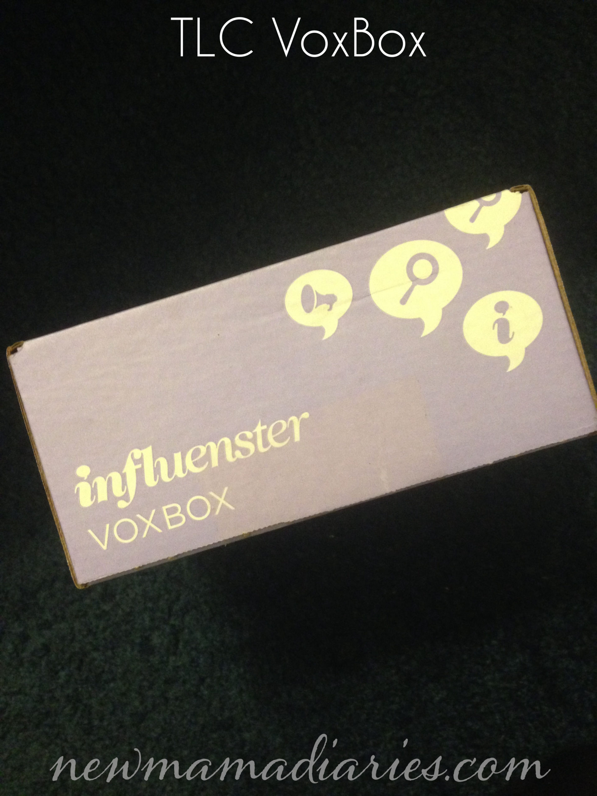 Influenster TLC Vox Box Overview | NewMamaDiaries.com #voxbox #review #overview #boxunveil