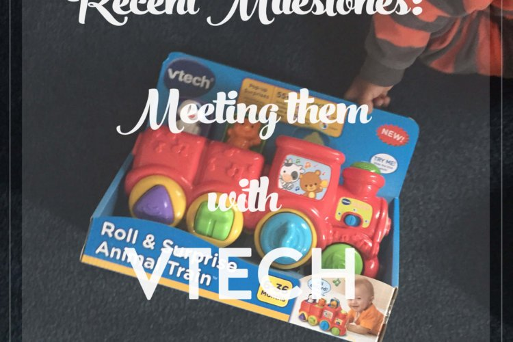 Recent Milestones with VTech | NewMamaDiaries.com