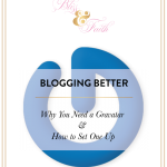 What You Need In & Why You Should Use a Blog Planner