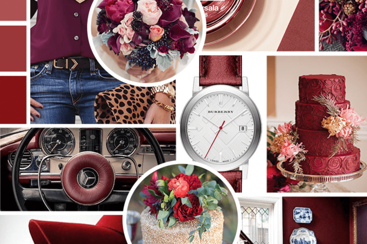 Brand Inspiration | Marsala Mood Board