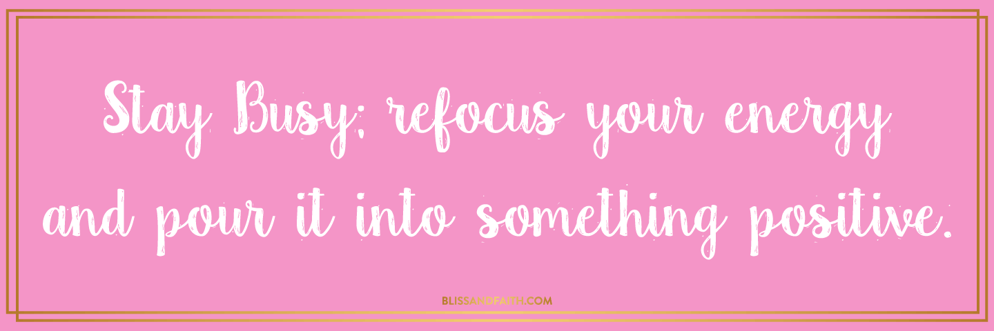 Getting Out of Being Stuck In A Runt & Focusing On Positivity | BlissandFaith.com