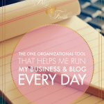The Number One Way I Organize & Keep Track of Blog Posts