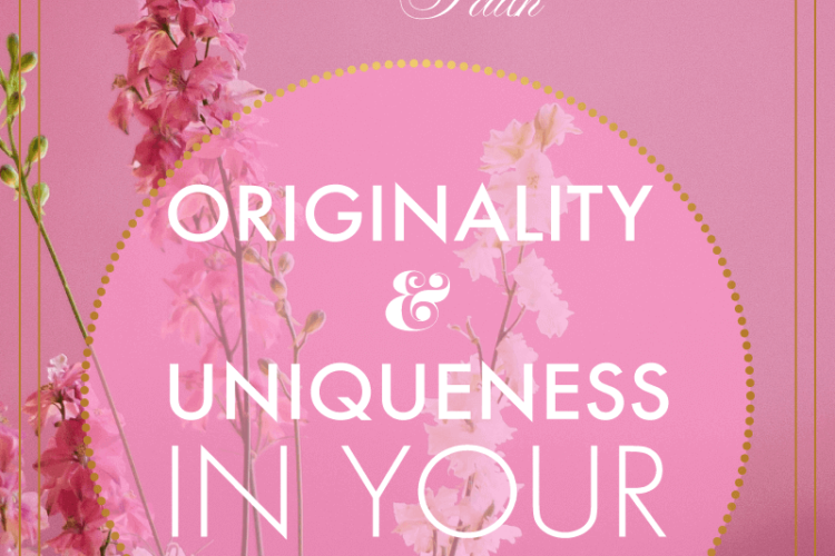 Originality & Uniqueness In Your Branded Elements | BlissandFaith.com