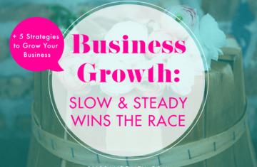 5 Strategies to Grow Your Business | BlissandFaith.com