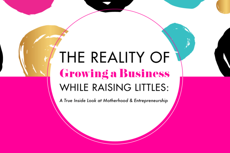 The Reality of Growing a Business While Raising Littles: A True Inside Look at Motherhood & Entrepreneurship | BlissandFaith.com