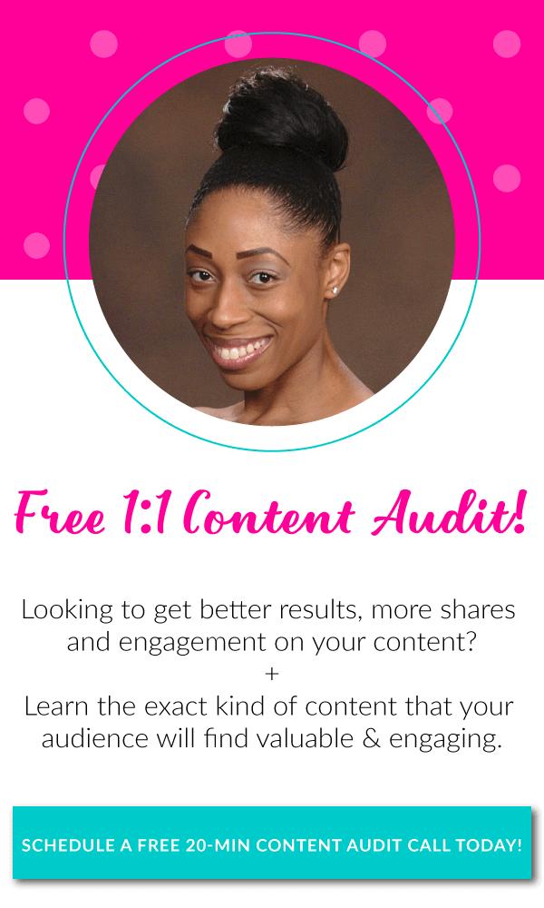 Bliss & Faith Free Content Audit   BlissandFaith.com