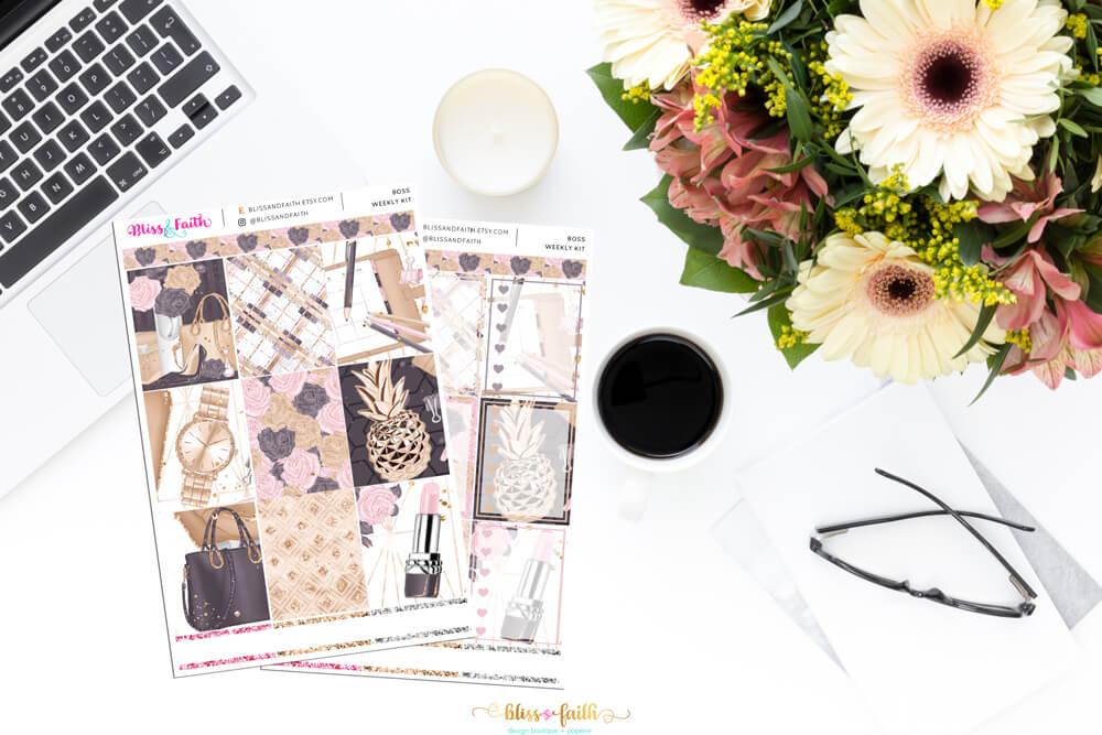 Boss Weekly Sticker Kit | shop.blisandfaith.com