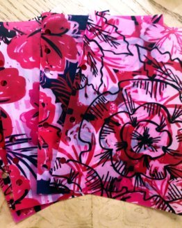 Hot Pink Abstract Floral Vellum Set | shop.blisandfaith.com