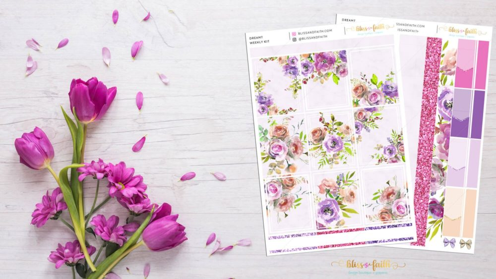 Dreamt Weekly Sticker Kit | BlissandFaith.com